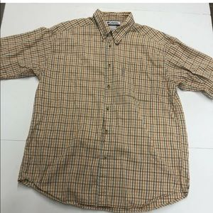 Columbia Sportswear Mens Button Front Shirt Size L